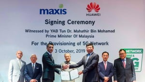 Malaysia makes a big show of backing Huawei on 5G