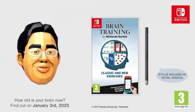 Nintendo Switch Brain Age followup gets January launch in Europe