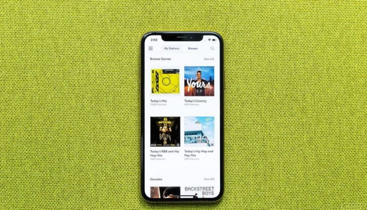 Pandora will now display full song credits for millions of tracks