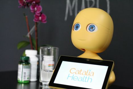 Robots help patients manage chronic illness at home