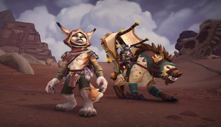 World of Warcraft Update 8.3 Adds Two New Races and Eldritch Horrors