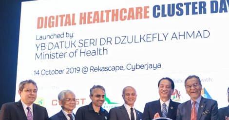 CREST digital healthcare cluster kicks off with 3 initiatives