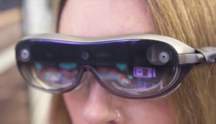 Lenovo plans sleek AR glasses that let PC users see multiple workspaces