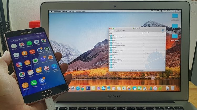 How to Transfer Files Between Android and MAC