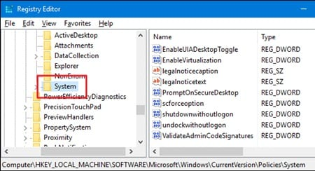Disable Fast User Switching in Windows 10