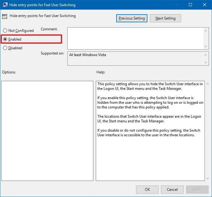 Using Local Group Policy Editor
