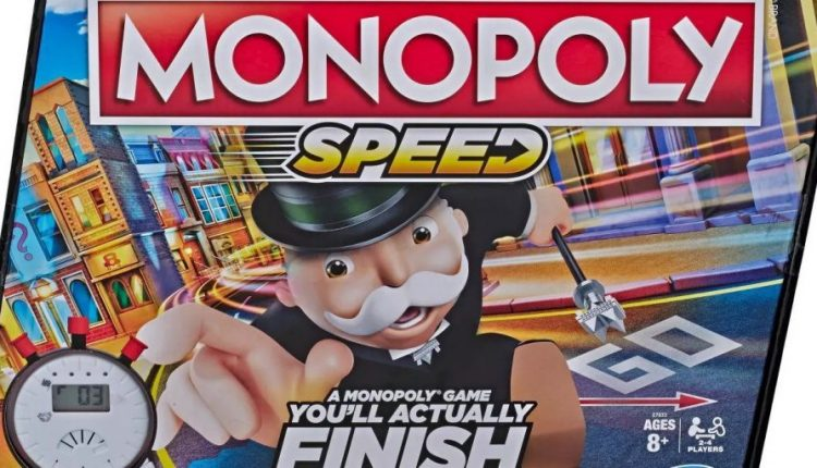Hasbro Reveals Monopoly: Speed With Special Rules for Quick Games