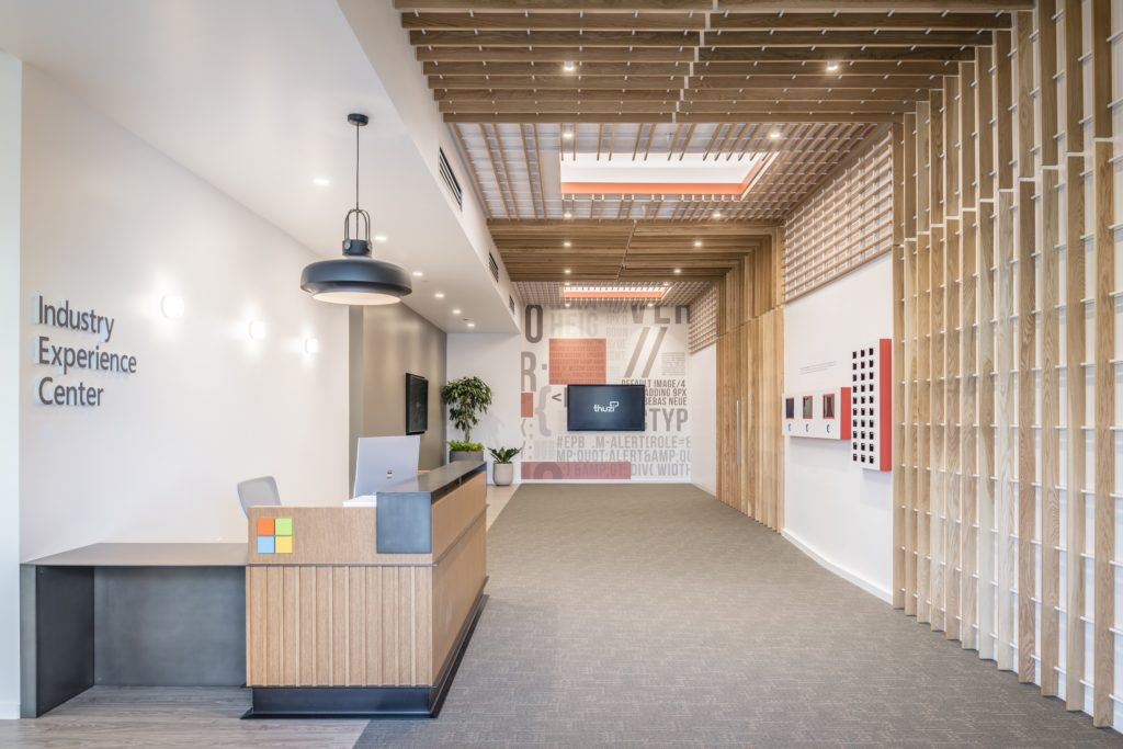 Microsoft's new 23,000-square-foot Industry Experience Center in Redmond, Washington.