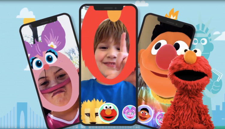 Sesame Street Yourself Uses Augmented Reality to Bring Elmo and Friends to Life