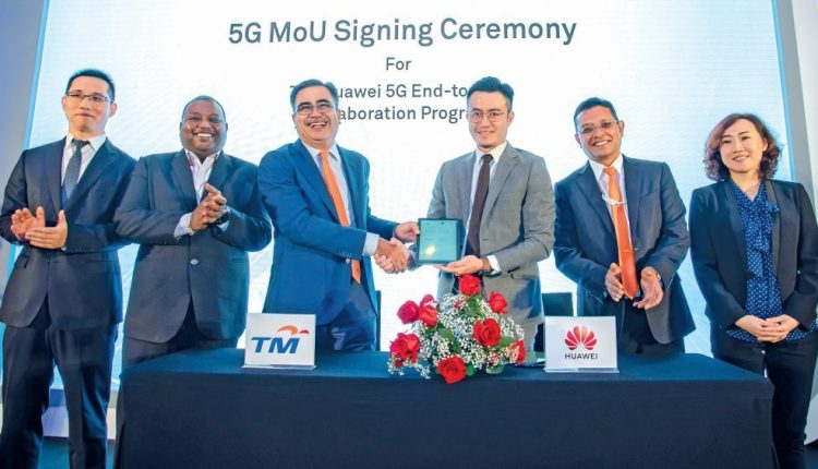 TM and Huawei collaborate to accelerate 5G commercialisation in Malaysia