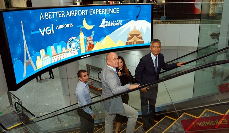 VGI Airports digital media initiative at KLIA to complete by 2Q20