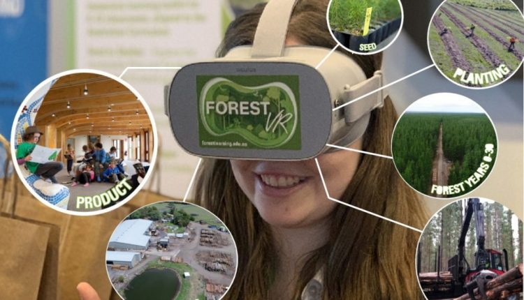 Virtual reality engages tech-hungry learners with ForestVR