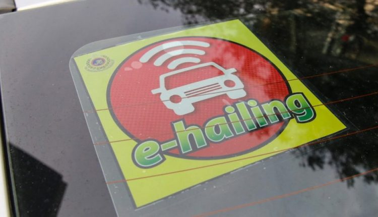 What is the future of the e-hailing gig economy in Malaysia?
