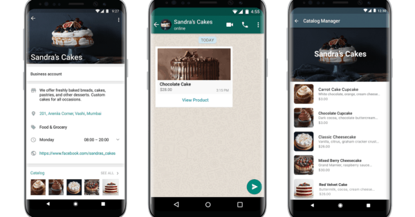 WhatsApp Launches a Catalog Feature for Small Businesses