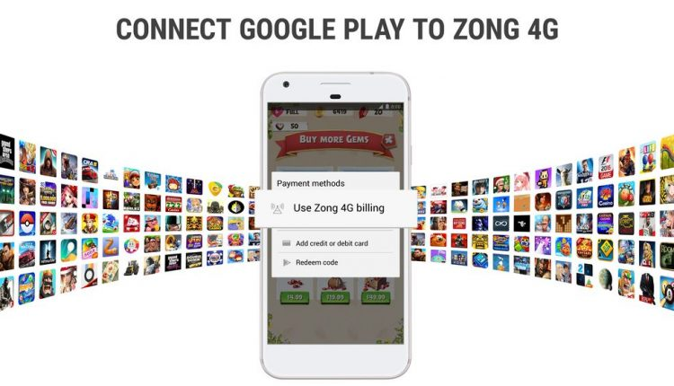Zong 4G Partners With Fortumo to Launch Google Play Carrier Billing in Pakistan