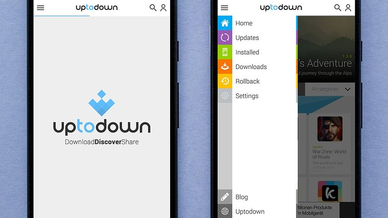AndroidPIT uptodown appstore
