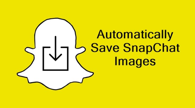Automatically Save Snapchat Images In Android