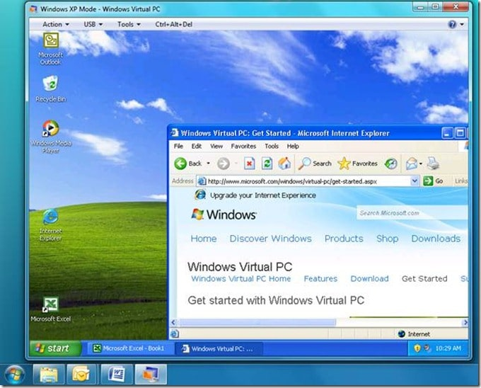 Using Virtual Machine