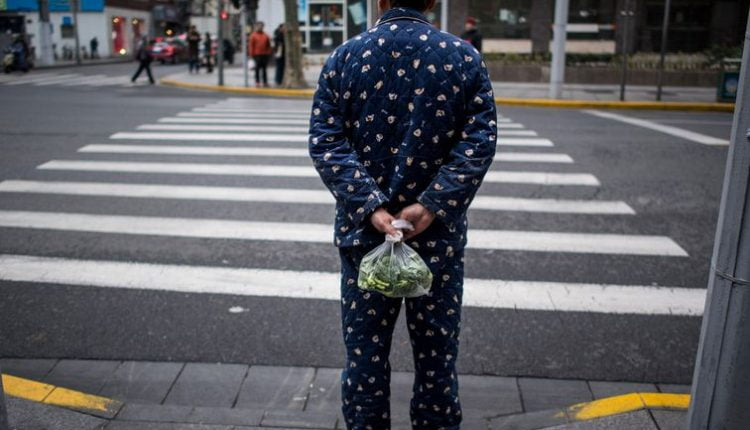 Chinese city uses surveillance tech to shame citizens for wearing pajamas outside