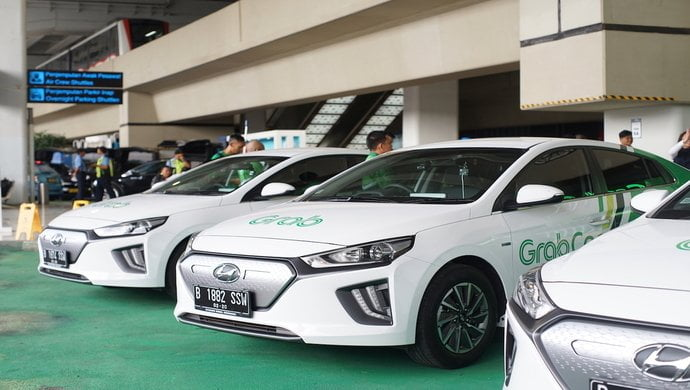 Grab, Hyundai launches their first electric vehicle service in Indonesia