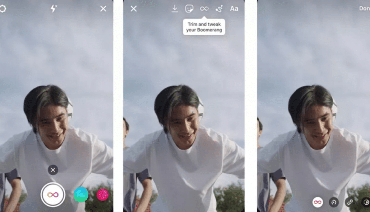 Instagram just launched new TikTok ahem, Boomerang effects