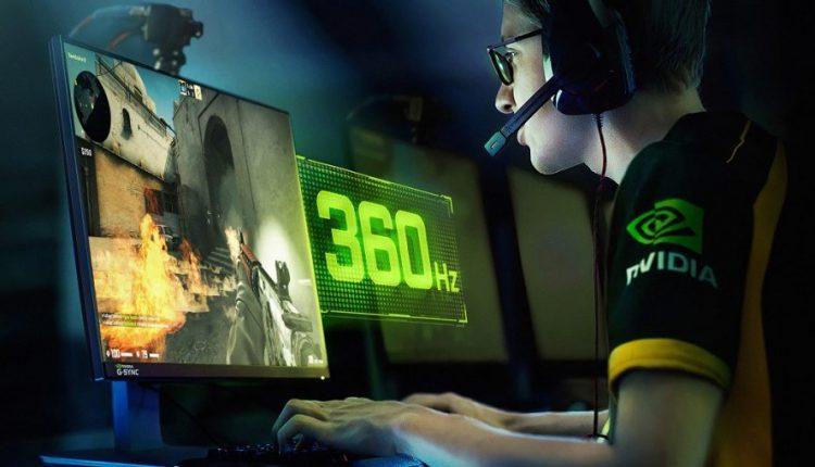 Nvidia creates crazy-fast 360Hz G-Sync display for esports