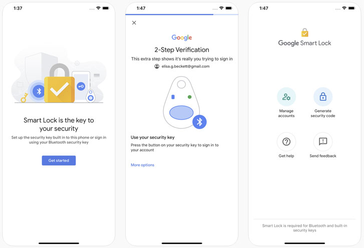 google security key iphone