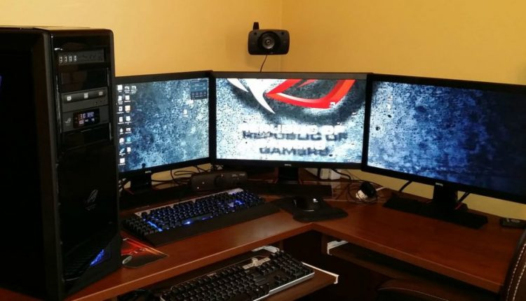 How to set up multiple monitors for PC gaming