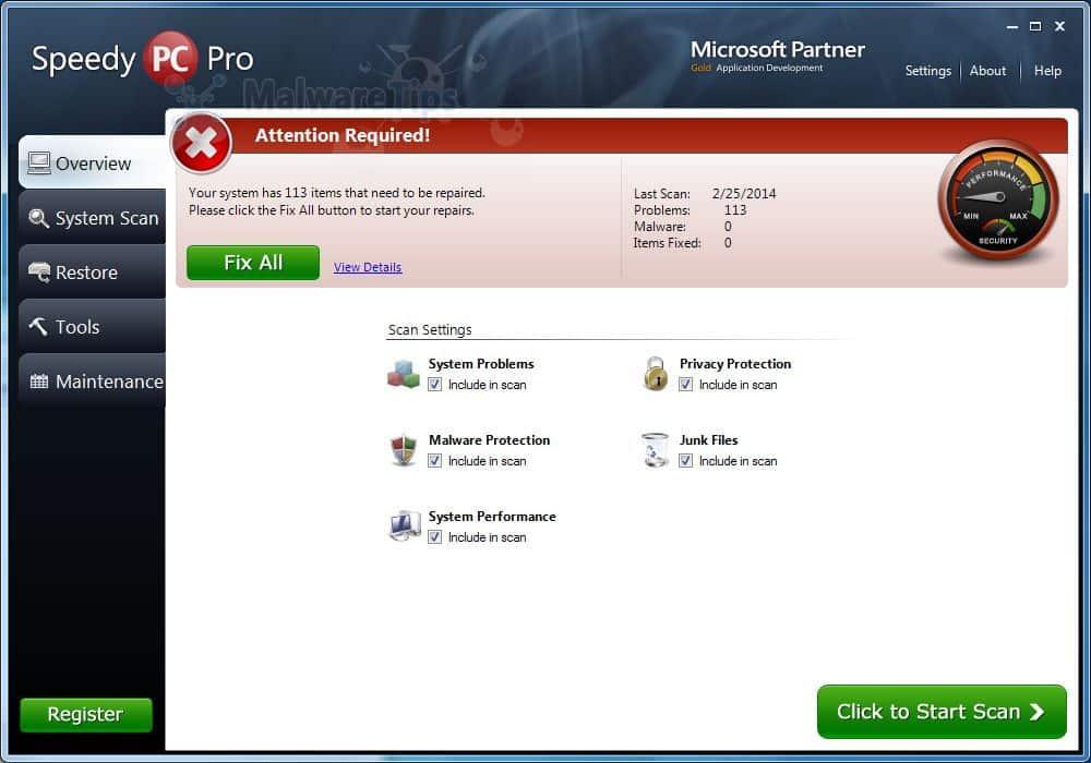 SpeedyPC Pro