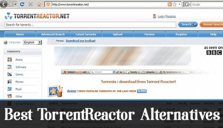 10 Best TorrentReactor Alternatives in 2020