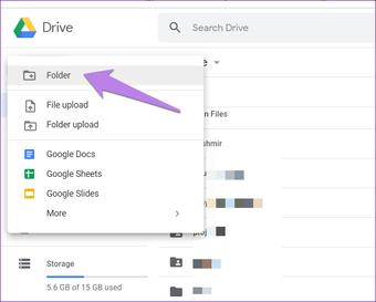 Google drive folder tips tricks 2