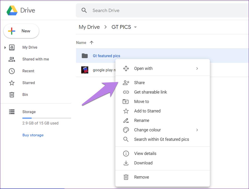 Google drive folder tips tricks 13