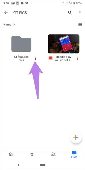 Google drive folder tips tricks 11