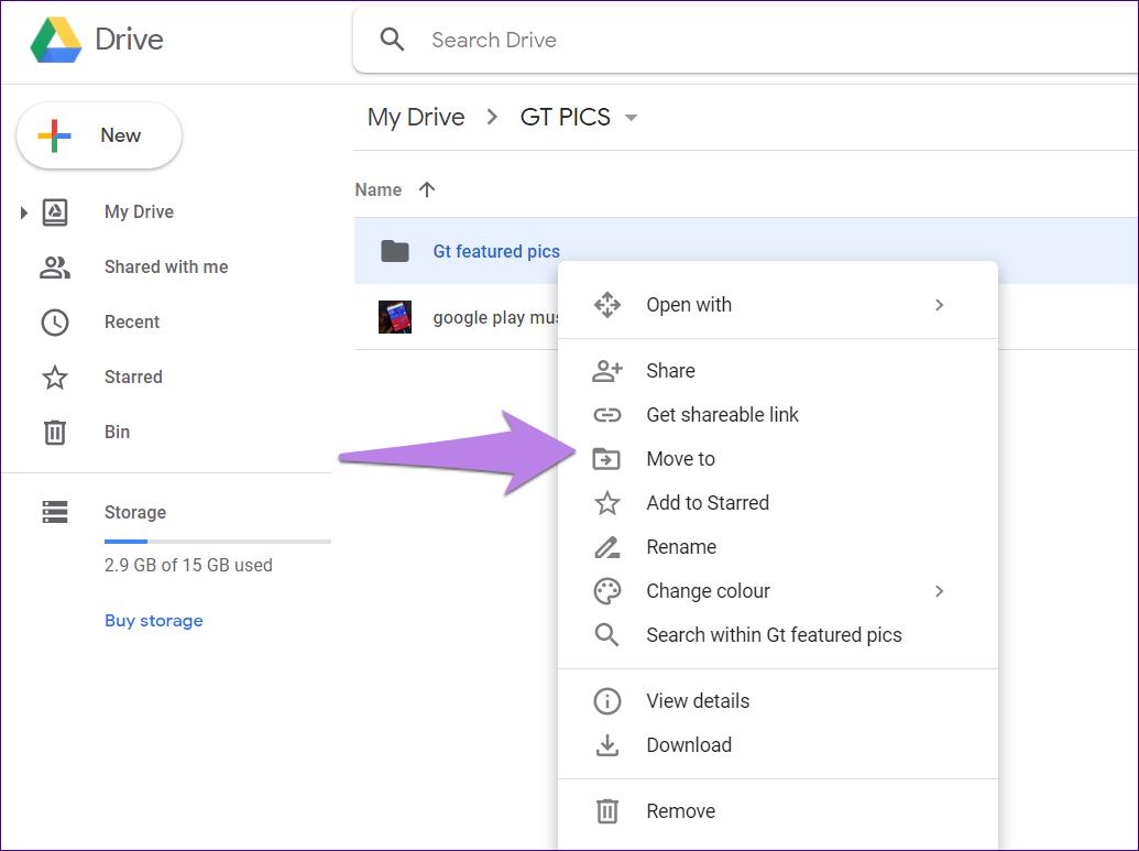 Google drive folder tips tricks 20