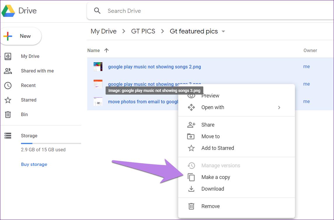 Google drive folder tips tricks 22