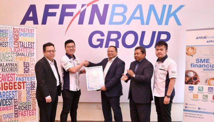 Affin sets Malaysia Book of Records for SME community development mobile app