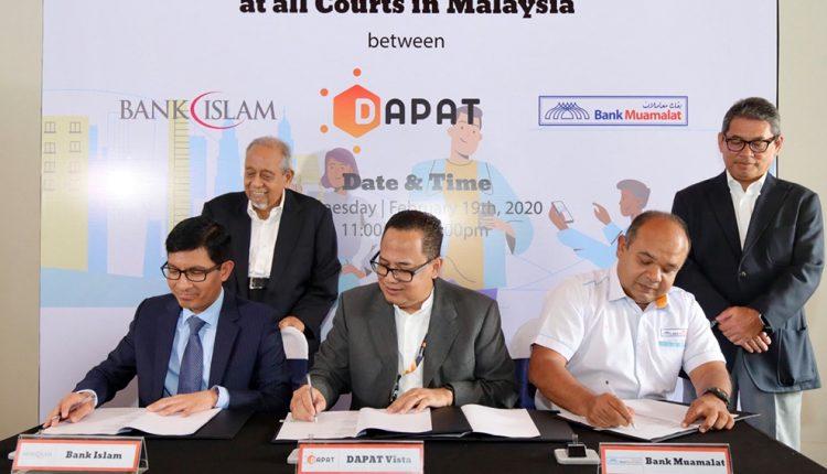 Dapat Vista, Bank Islam and Bank Muamalat to Enable Digital Bail Payment