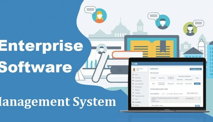 Enterprise Software Management System (ESM)