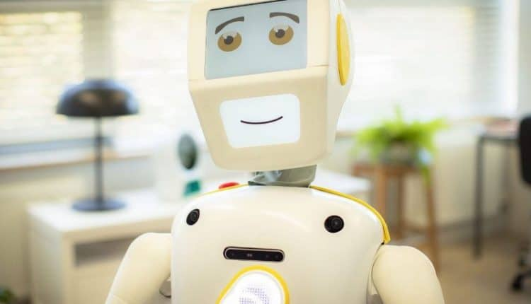 How Stevie the robot can help carers be more human