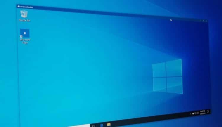 How to use Windows Sandbox in Windows 10