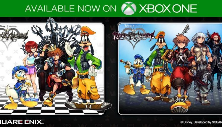 Kingdom Hearts Collections Release Digitally For The Xbox One