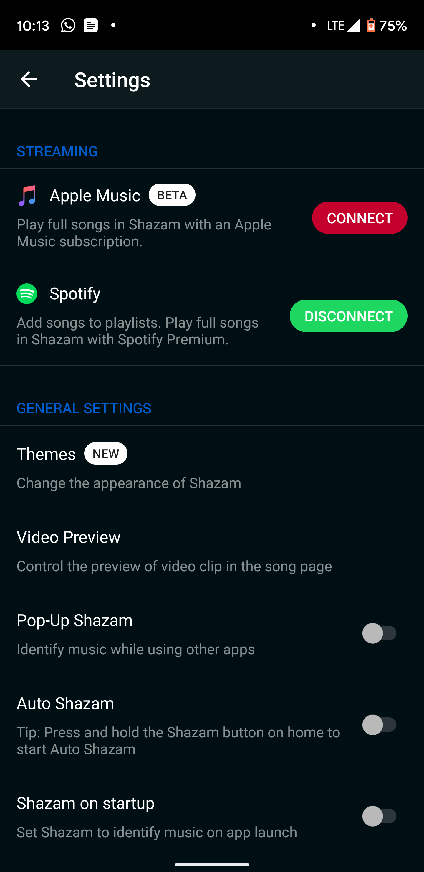 shazam apple music