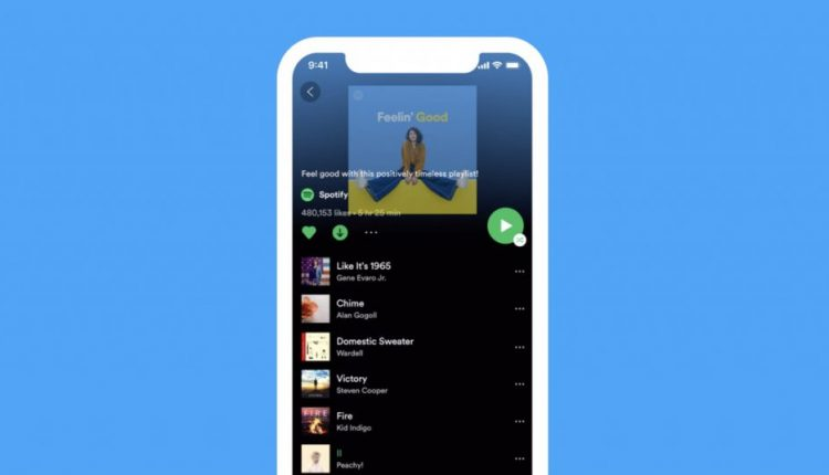 Spotify is rolling out a new look for iOS that ditches word-based buttons