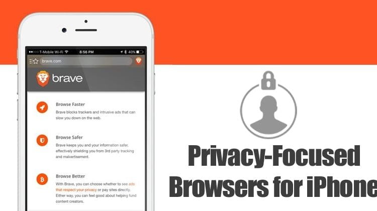 5 Best Privacy-Focused Web Browsers for iPhone in 2020
