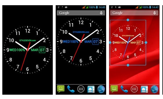Analog Clock Live Wallpaper-7