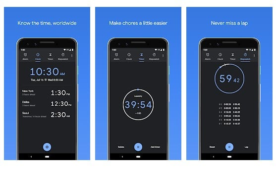 Clock from Google LLC