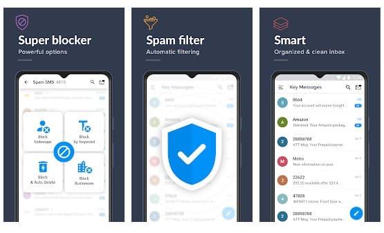 Block Text, SMS, Spam Blocker