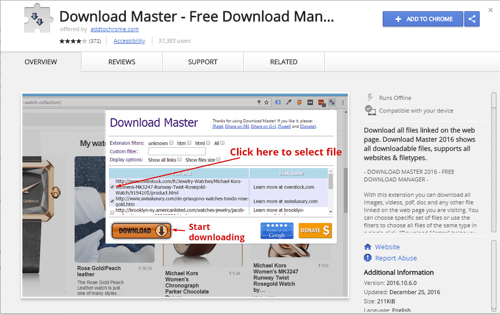 15 Best Download Manager Extensions For Google Chrome