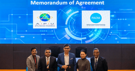 APU enhances student career prospects thru pact with FinTech Association of Malaysia
