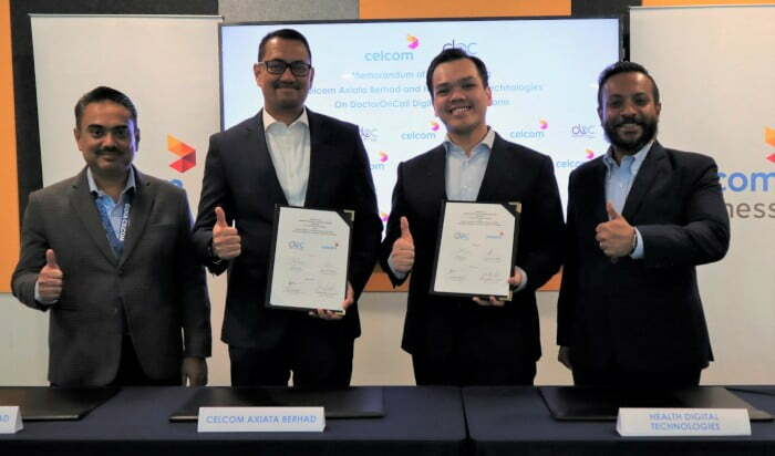 Celcom partners with Malaysia-based digital health platform DoctorOnCall